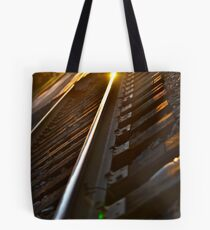 This side of the Tracks I Tote Bag