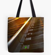 This side of the Tracks II Tote Bag