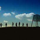 Life at Elwood Beach by Mukesh Srivastava