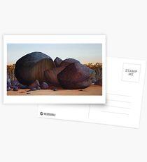 History Wars IV (reworked 2011), Oil on Linen, 84x153cm. Postcards