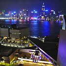 Hong Kong from Kowloon by Polly Greathouse