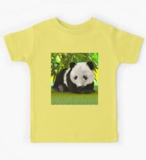 Panda Bear Cub Kids Tee