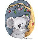 Christmas Koala by Nicky Johnston
