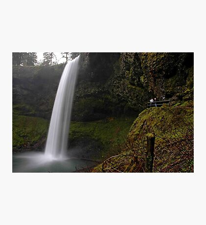 Shooting The Falls Photographic Print