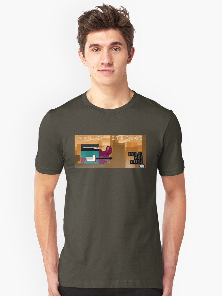 Man of Strings Unisex T-Shirt Front