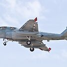 162939 EA-6B Prowler On Approach by Henry Plumley