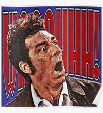 Shocked Kramer Poster