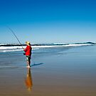 Fishing on Sunrise by jesskato