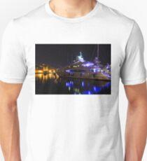 Reflecting on Malta - Grand Harbour Marina Unisex T-Shirt