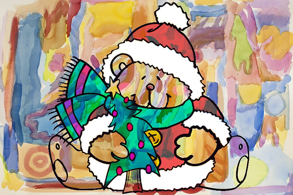 CHRISTMAS BEAR by Tammera