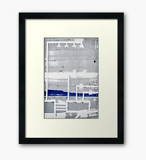 Urban Planning Framed Print