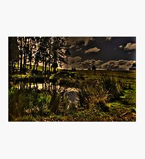 Dam Side Photographic Print