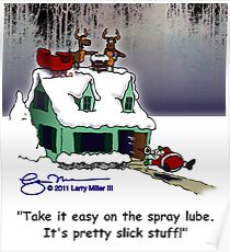 Spray Lube Poster