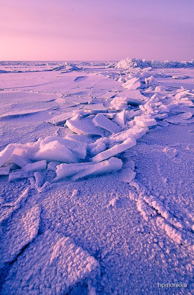 Ice Formations by Niko Mönkkönen
