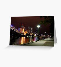 melbourne river walk Greeting Card