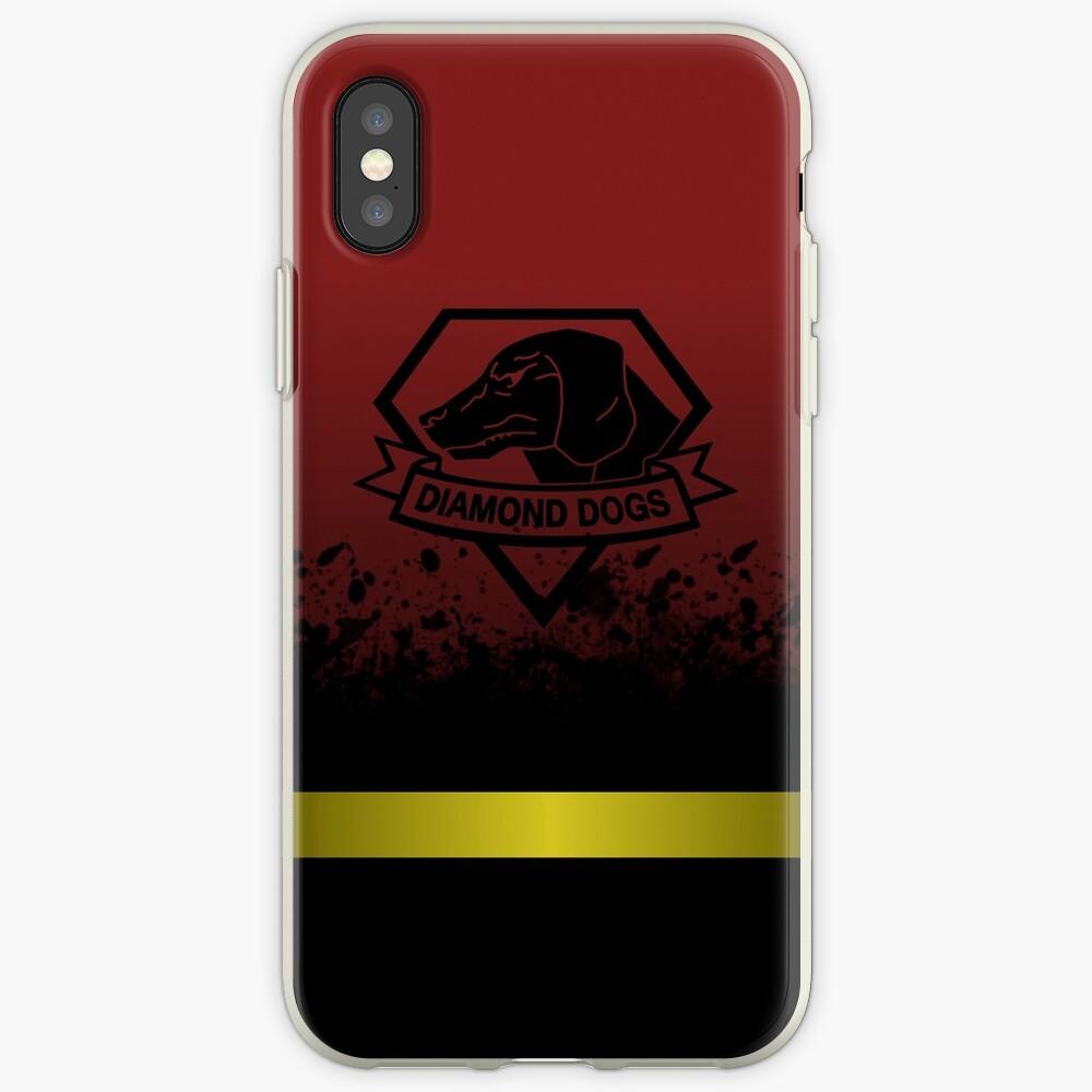 Phantomschmerz - Diamond Dogs iPhone-Hülle & Cover