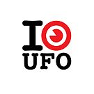 I LOVE UFO by cintrao