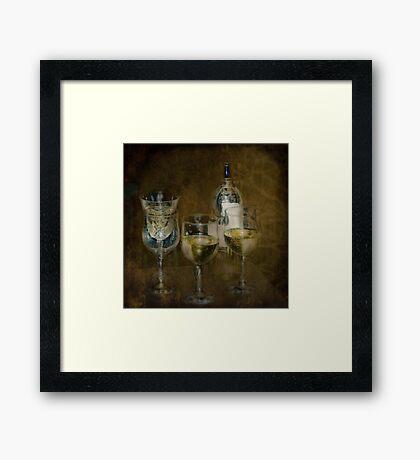 House Wine Framed Print