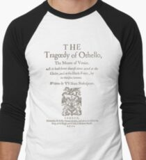 Shakespeare, Othello 1622 Camiseta ¾ bicolor para hombre