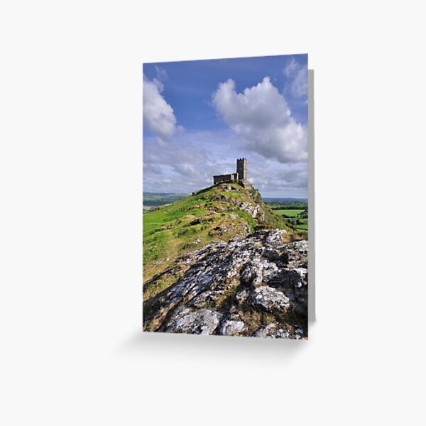Brentor Church - Devon Greeting Card