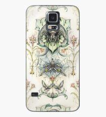 Antique pattern - Spider and Moths Case/Skin for Samsung Galaxy