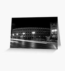 Plaza Toros de Valencia Greeting Card
