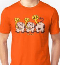 Singing Cows Unisex T-Shirt