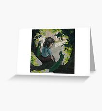 Truancy with Friends Greeting Card