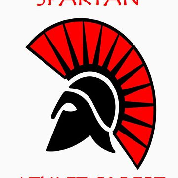 Spartan Athletic Top  by AfroSmurfs