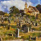 Chapel and Cemetery, Newton Abbot, Devon by David Carton