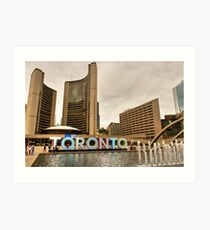 City To City © Art Print