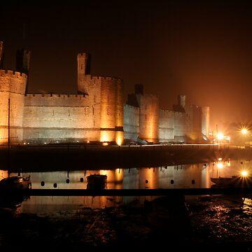 Caernarfon Castle by RH-prints