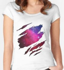 Made of Star Stuff Women's Fitted Scoop T-Shirt