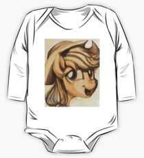 A Silly Pony One Piece - Long Sleeve