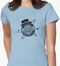 Pinkman & Heisenburg. Womens Fitted T-Shirt