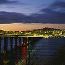 Tay Bridge heading to Dundee by dgscotland