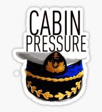 Cabin Pressure! Sticker