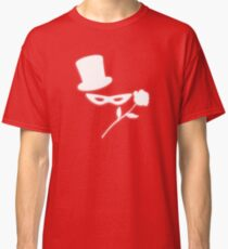 Masked Man in a Tux Classic T-Shirt
