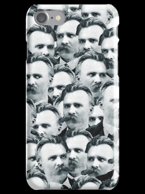 Sea Of Nietzsches iPhone Case by deadphilosopher