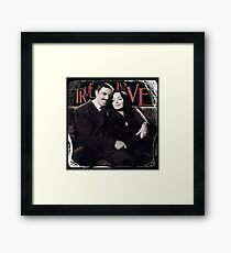 Gomez & Morticia Addams: True Love Framed Print