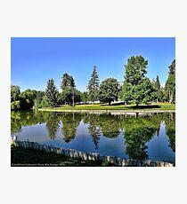 Woodland Park - Kalispell, Montana (USA) Photographic Print