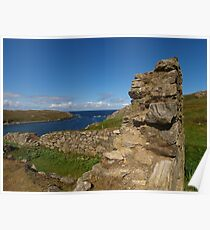 Blackhouse Wall Poster