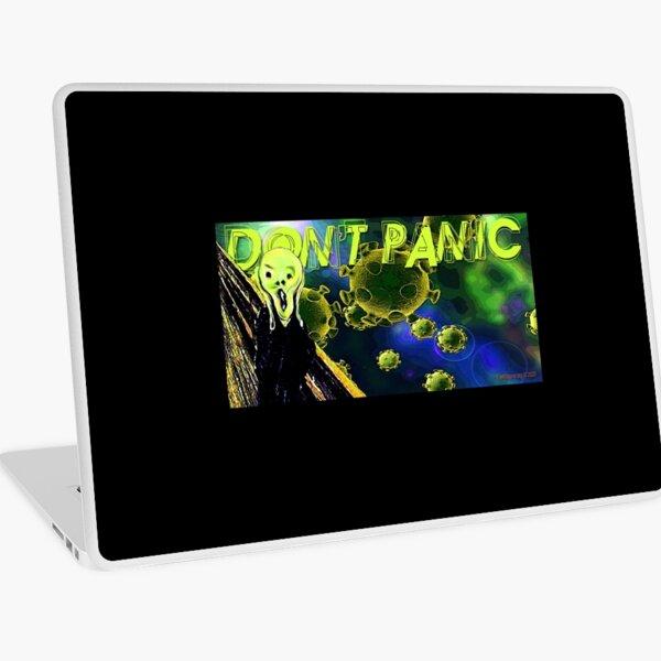 Don't Panic Laptop Skin