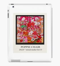 POPPIE CHAIR iPad Case/Skin