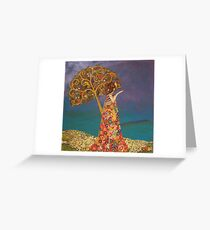 Golden Afternoon Greeting Card