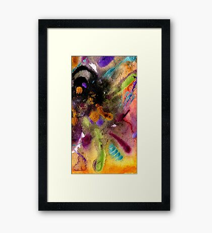 Something More Than Black & White Framed Print