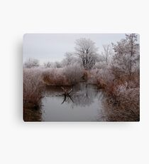Closed for Winter Canvas Print