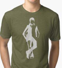 "SebastiAn - Total (Original Artwork 2) (""White"") Tri-blend T-Shirt"