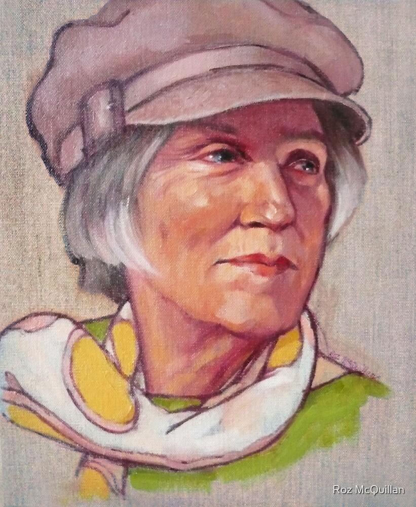Portrait of Barbara by Roz McQuillan
