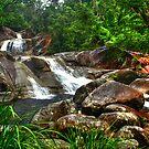 Josephine Falls top creek by Jennifer Craker